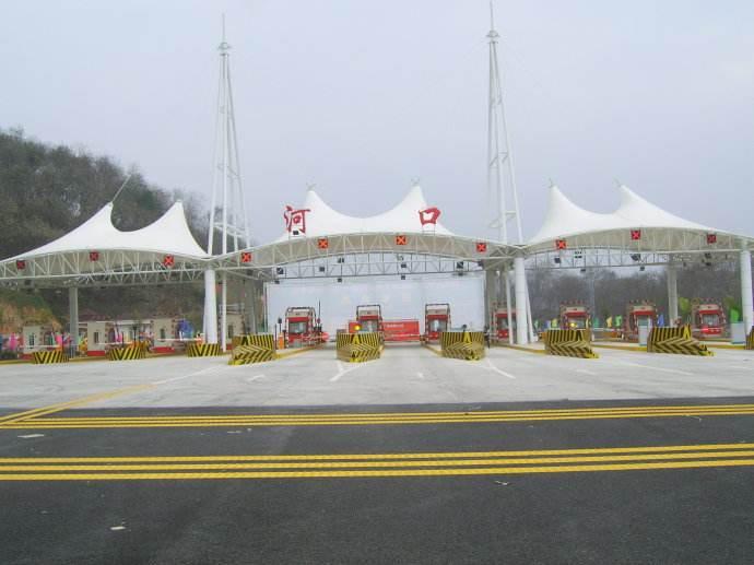 西藏膜结构收费站厂家