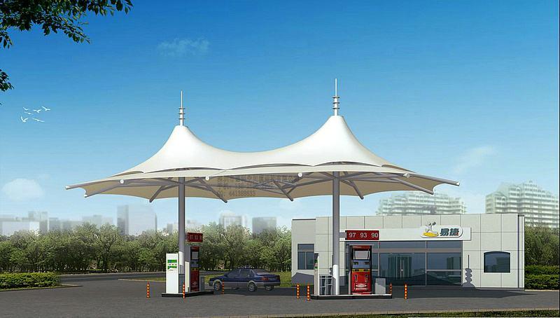 青海膜结构加油站厂家
