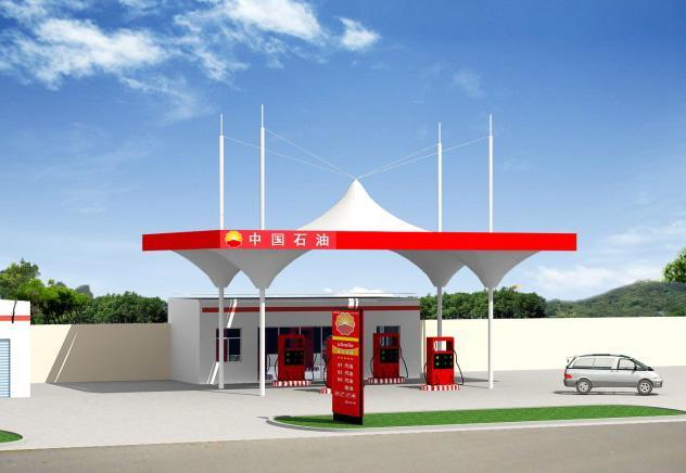 西藏膜结构加油站公司