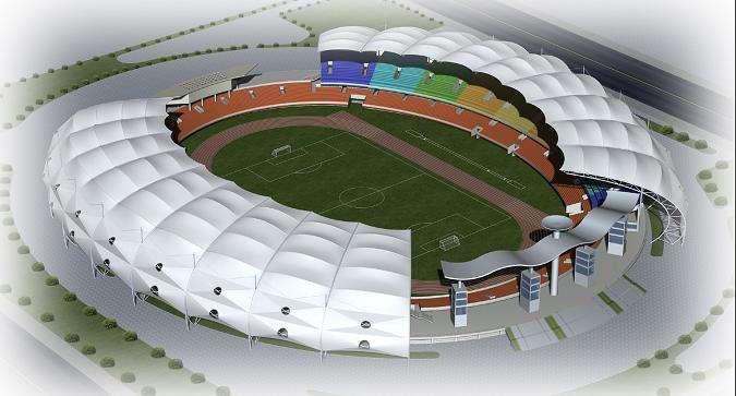 青海膜结构体育场价格