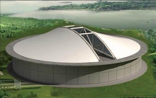 青海污水池膜结构工程