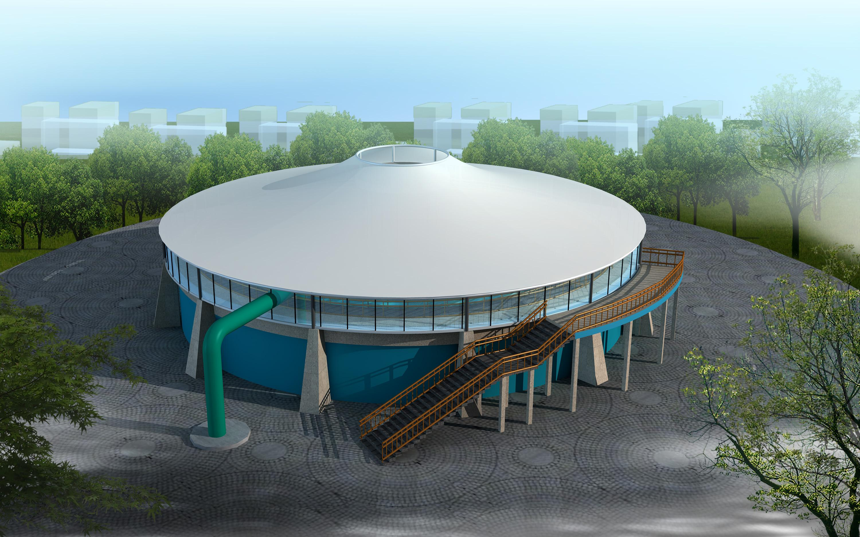西宁污水池膜结构厂家