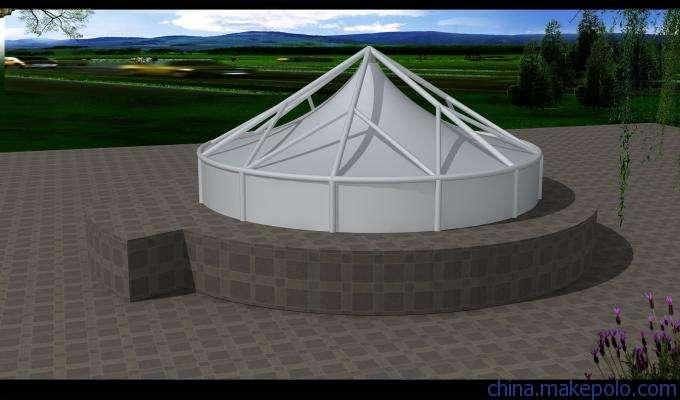 西宁污水池膜结构工程