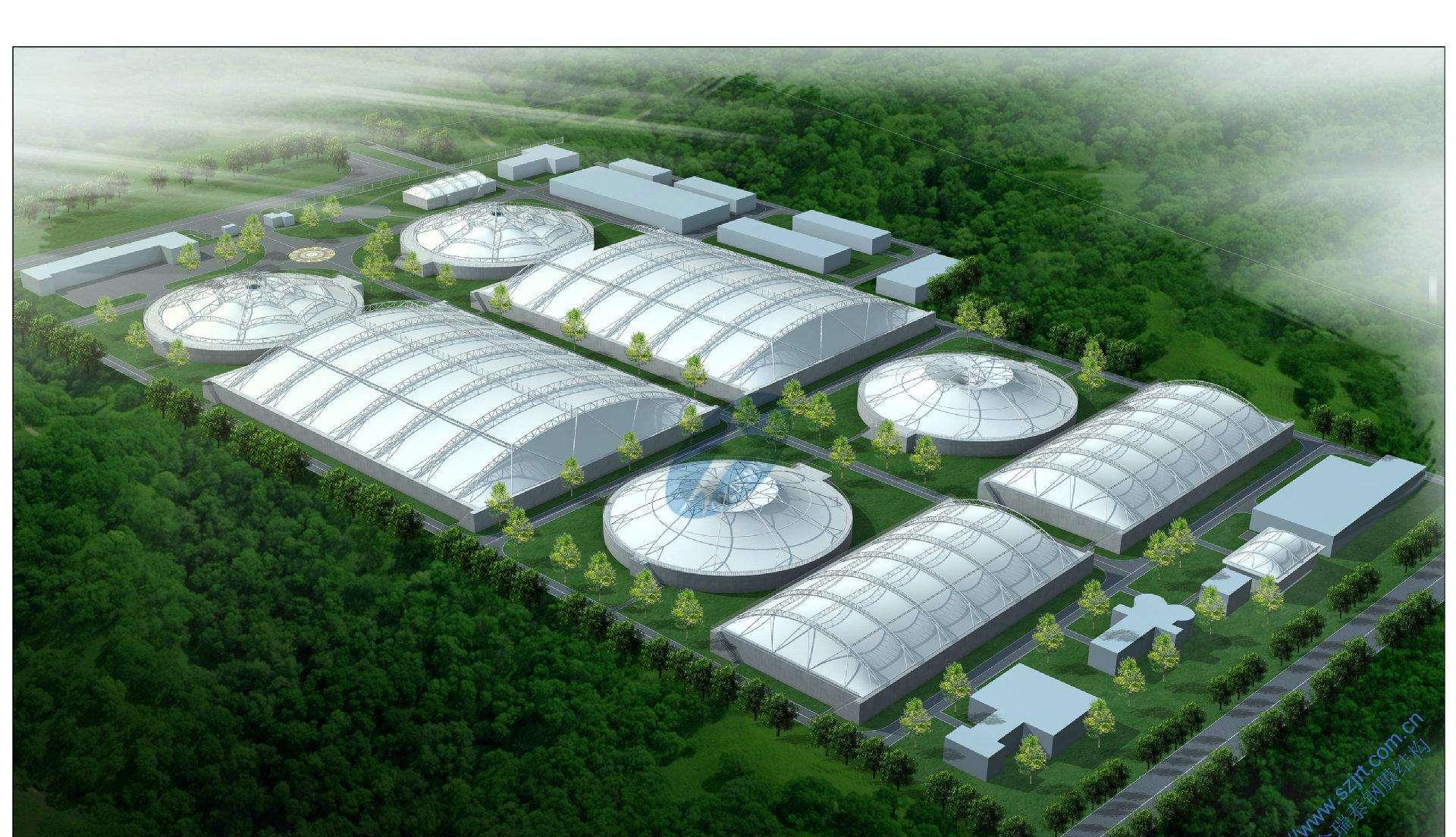 西藏污水池膜结构厂家