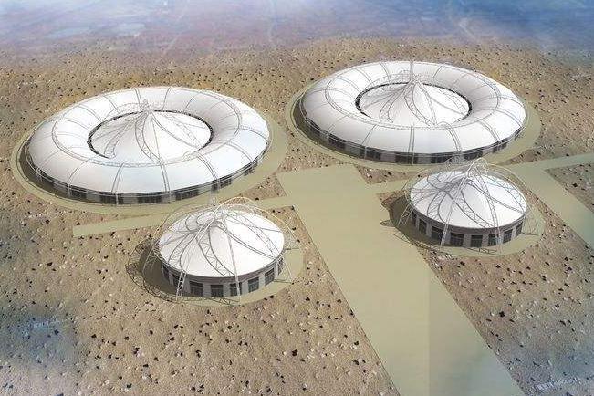 西藏污水池膜结构工程