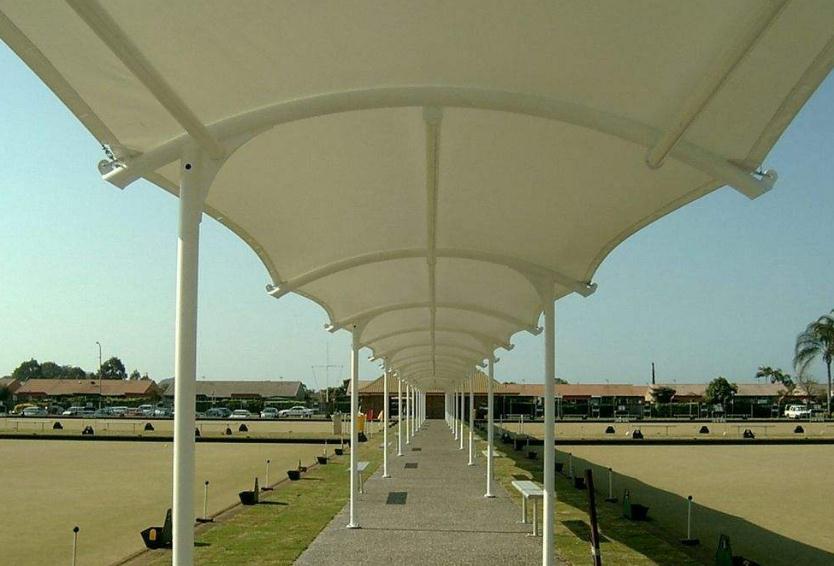 青海膜结构走廊