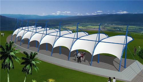 西藏膜结构观球台