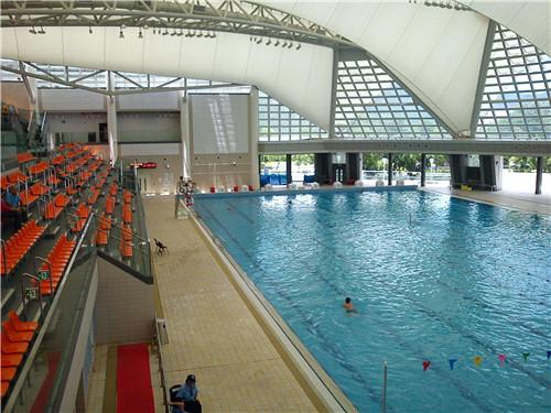 西藏膜结构游泳池