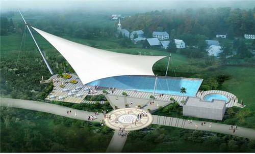 青海膜结构游泳池