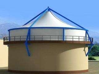 青海污水池加盖膜结构