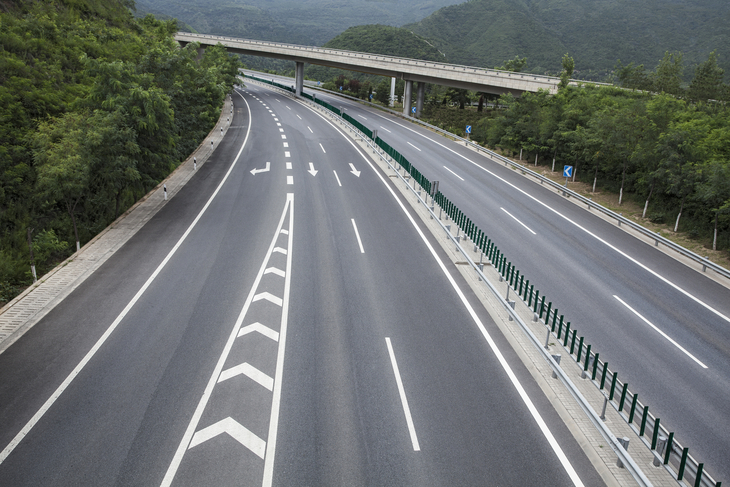 交通公路标线