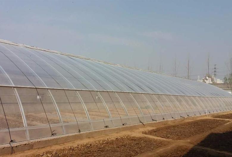 半坡温室大棚建造