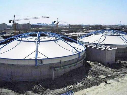 膜结构污水池罩