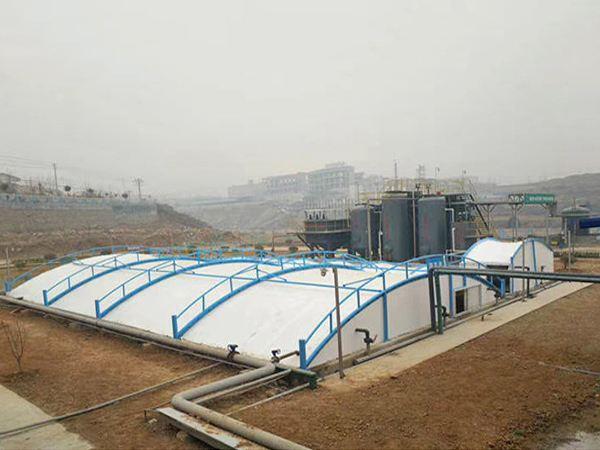 膜结构污水池加盖