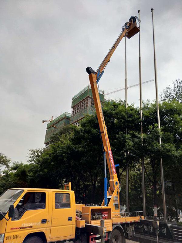 20米曲臂高空作业车