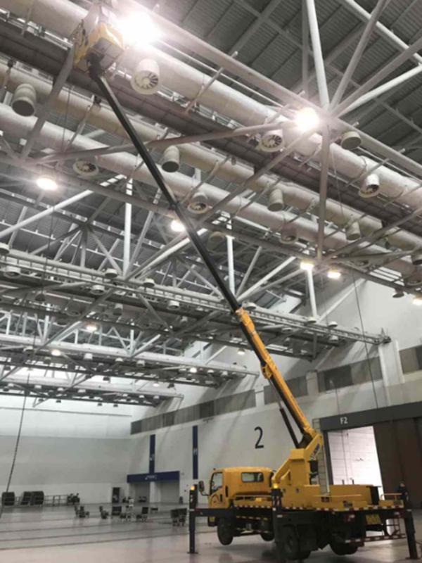 45米曲臂高空作业车