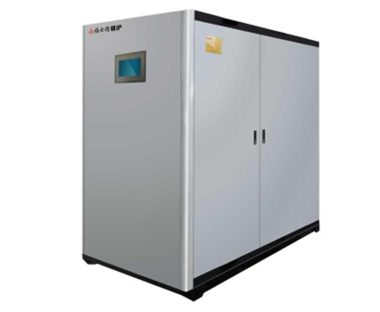 全预混低氮铸铝热水炉
