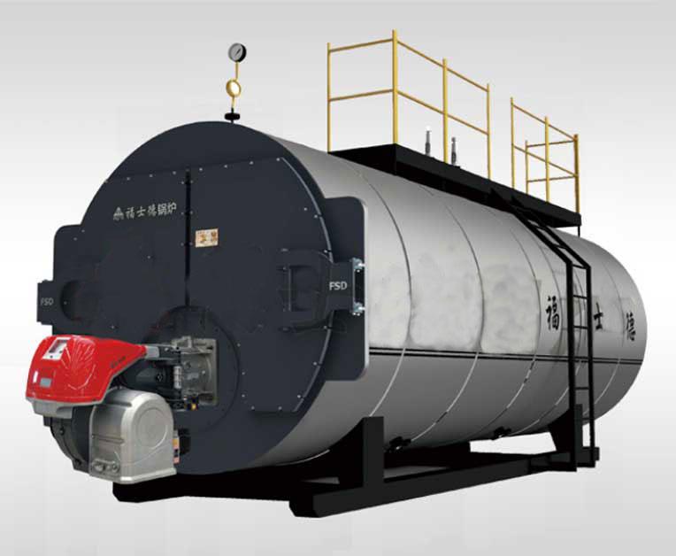 卧式冷凝分体热水锅炉