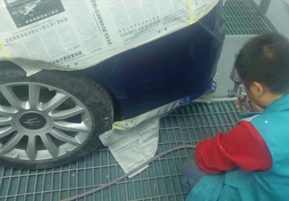西安汽车快速补漆