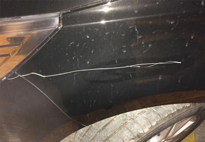 西安汽车划痕修复