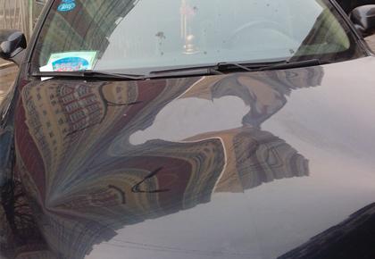 西安汽车无痕凹陷修复