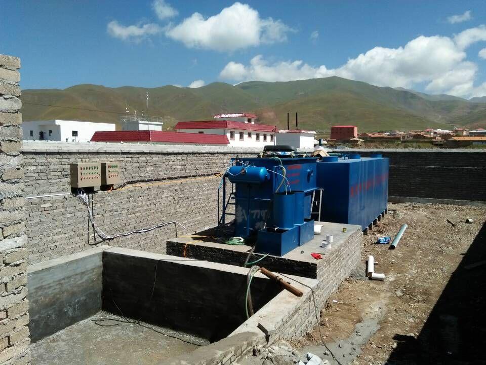 礦井污水處理設備用作生活用水的處理工藝?