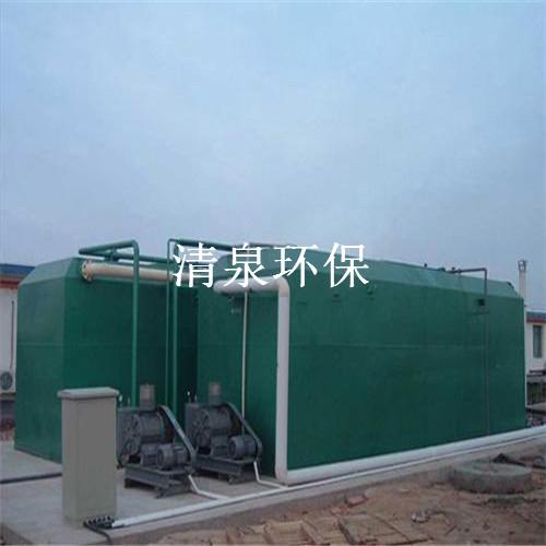 村庄污水处理设备原理与选型