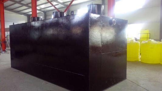 煤矿污水处理设备处理污水过程