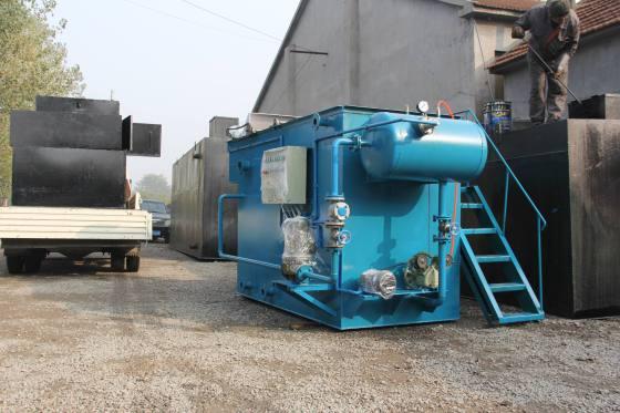 农村养殖污水处理设备案例