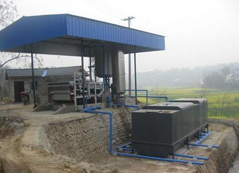 养殖场污水处理设备案例