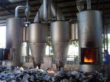 農村小型垃圾焚燒爐
