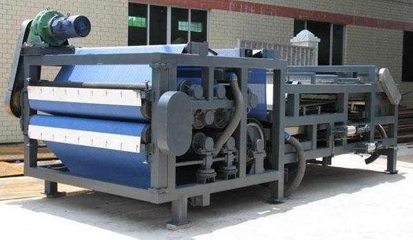 帶式污泥濃縮脫水機