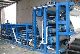 污泥帶式濃縮脫水機