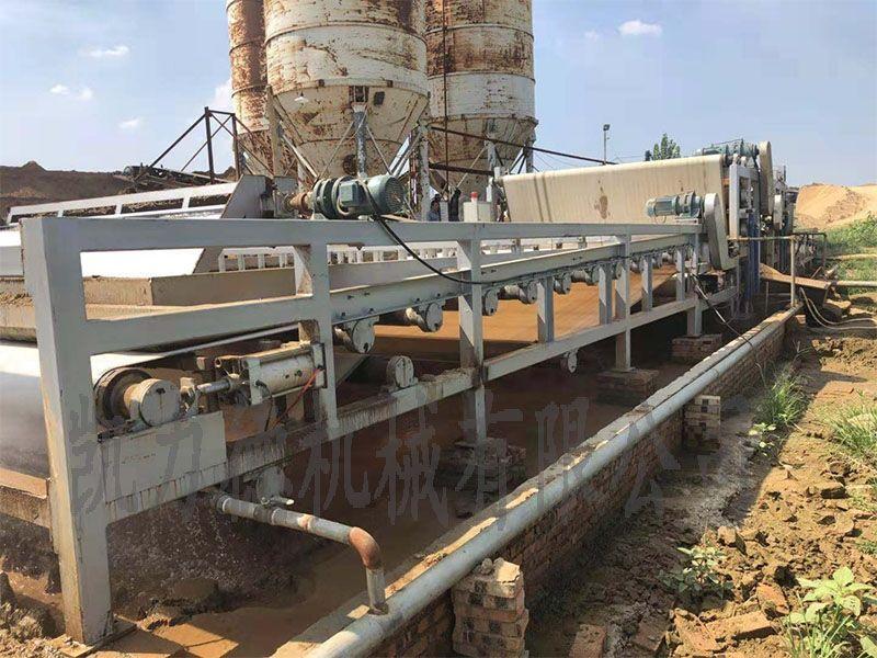 洗沙厂污泥脱水机