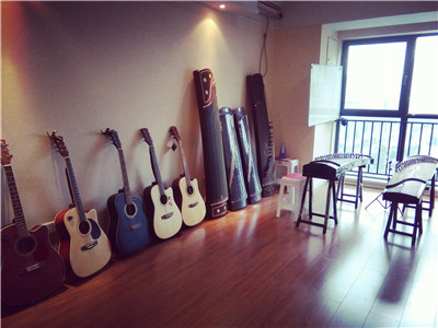 吉他培訓室