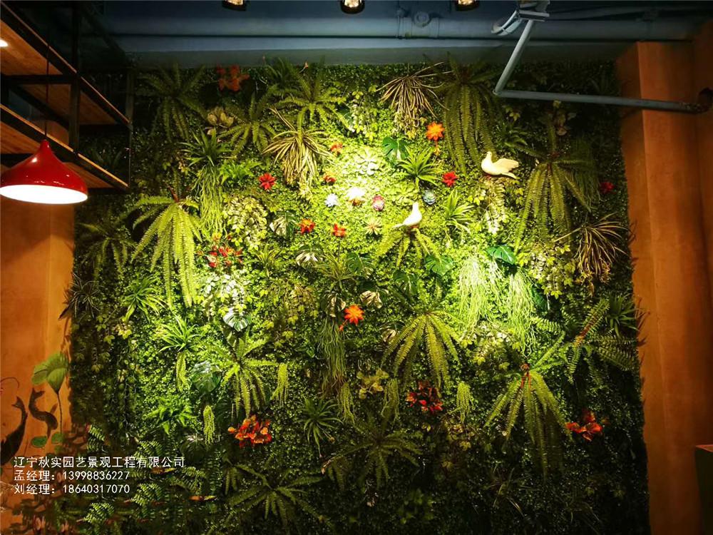 沈阳仿真立体植物墙