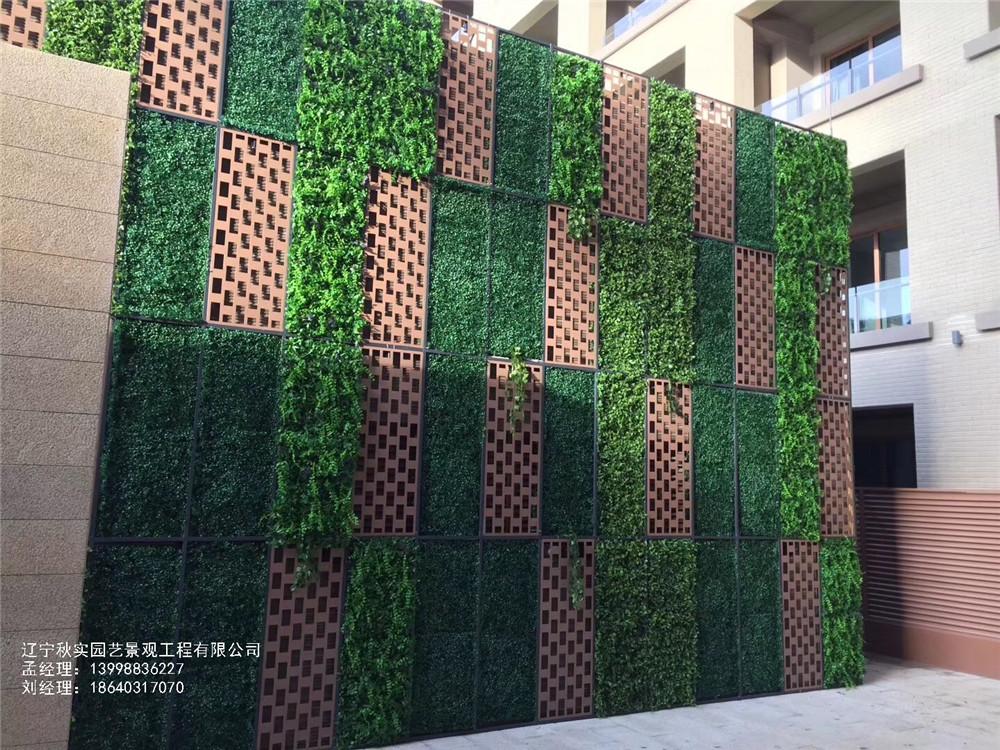 沈阳仿真室外植物墙