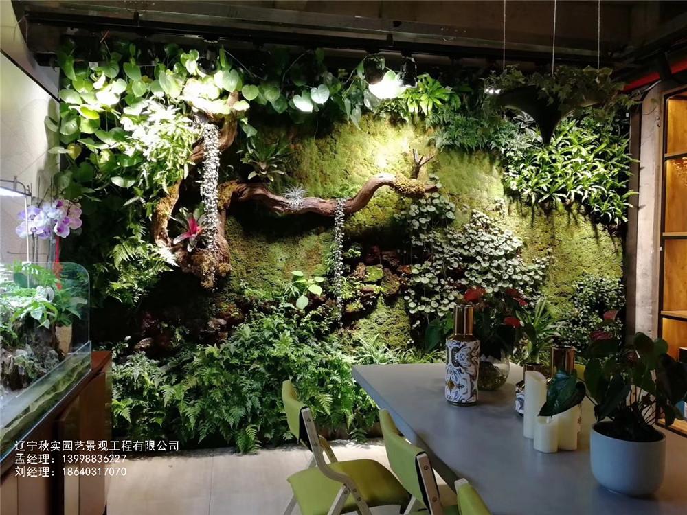 沈阳室内仿真植物墙