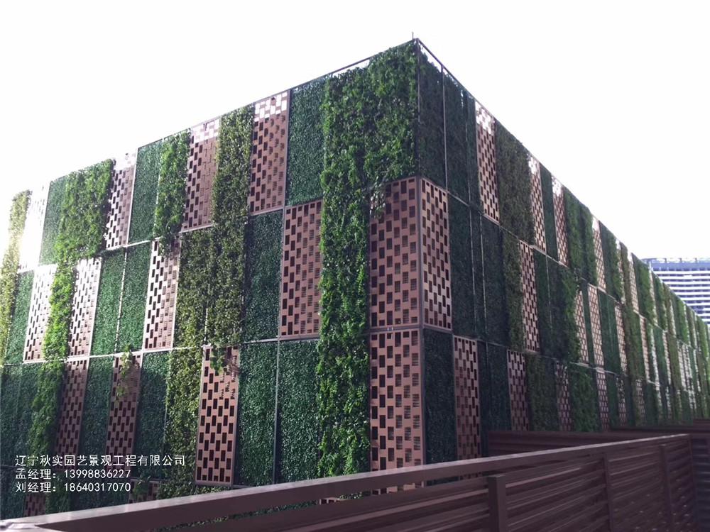 沈阳室外仿真植物墙