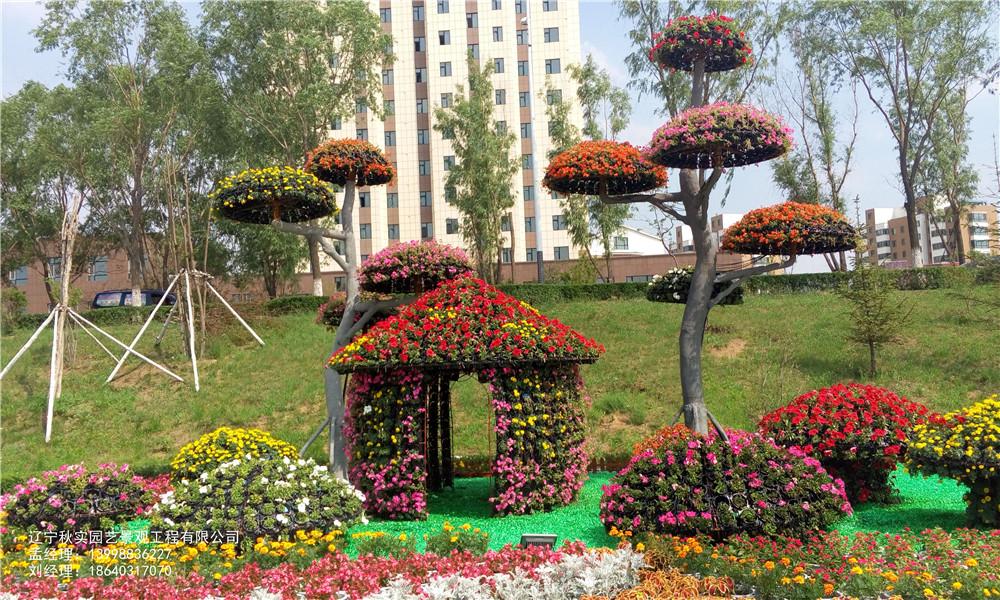 沈阳园林绿雕景观