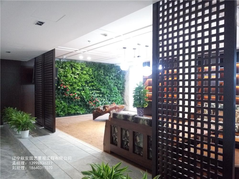 沈阳办公室植物墙