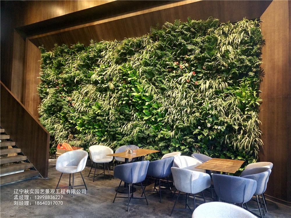 沈阳商场植物墙