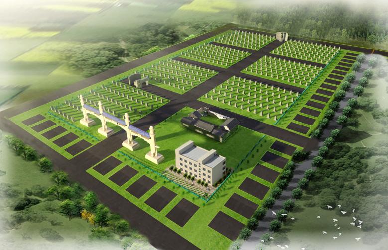 农村公墓设计图纸