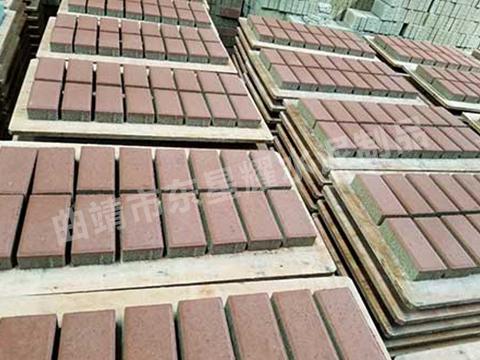 生态水泥透水砖