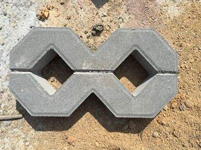 8字植草砖规格