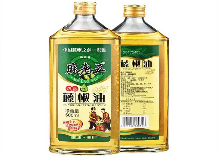 麻老五藤椒油500ml