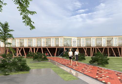 塞纳绿洲车棚项目