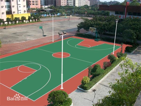 四川塑胶篮球场厂家