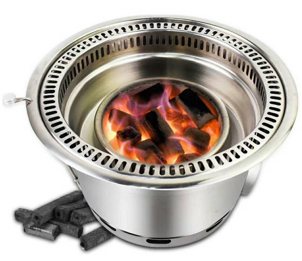 木炭烧烤盆