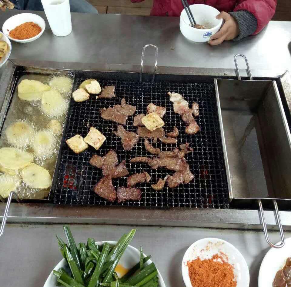环保烧烤桌
